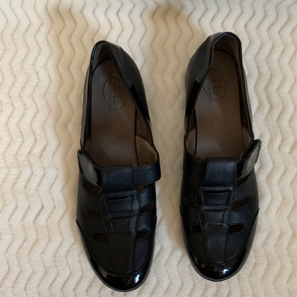 Life Stride Shoes - LifeStride Simply Comfort Black Casual Shoes 10M